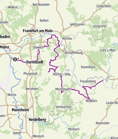 Map / Unterwegs auf der Deutschen Fachwerkstraße