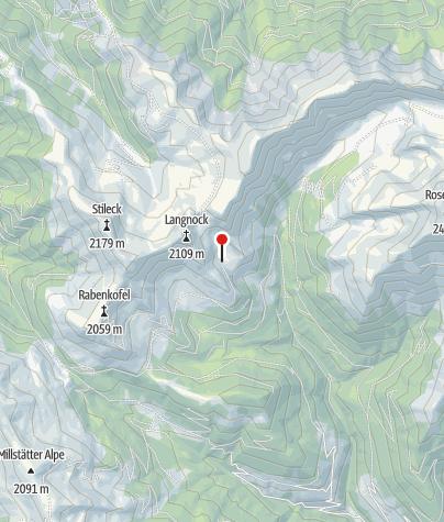 Karte / Lamprechtshütte