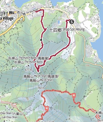 Map / 東馬肚坑 23 Dec 2017 08:24:18