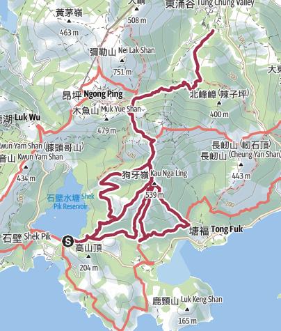 Map / 四牙一河 12 Jan 2019 08:19:17