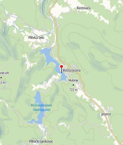 Nationalpark Plitvicer Seen Karte.Nationalpark Plitvicer Seen Naturschutzgebiet
