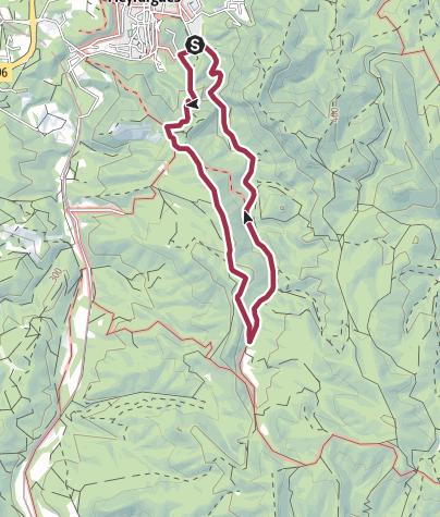 Map / Le Pas de l'etroit