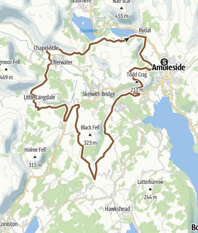 Map / ambleside