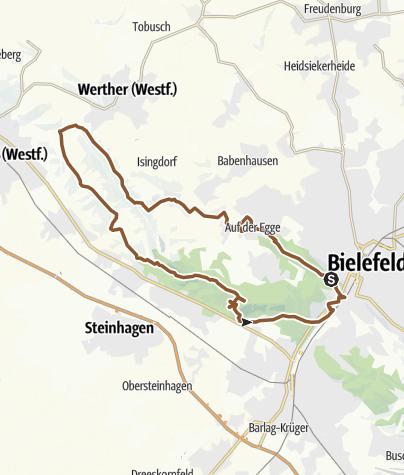 Map / TERRA.trail 17 - Schräge Steine, steile Kämme