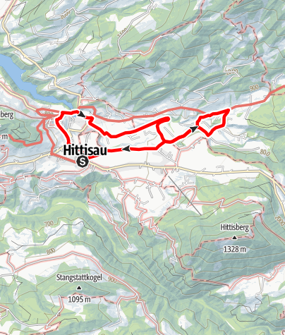 Karte / Hittisau | Wasserwanderweg