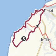 Map / Circuit Etretat