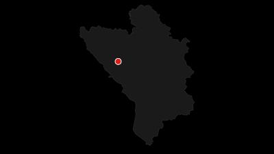 Mapa / Lukomir