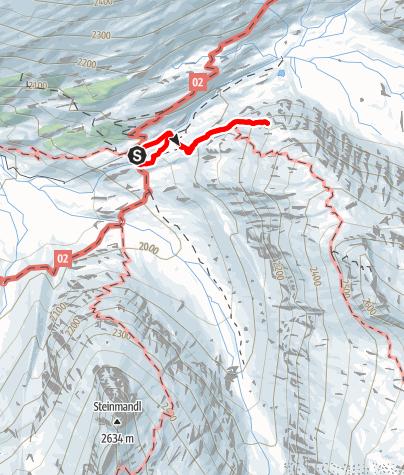 Karte / Klettergarten Berliner Hütte
