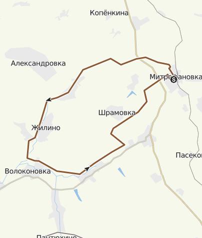 Map / Митрофановка, 13.08.2016