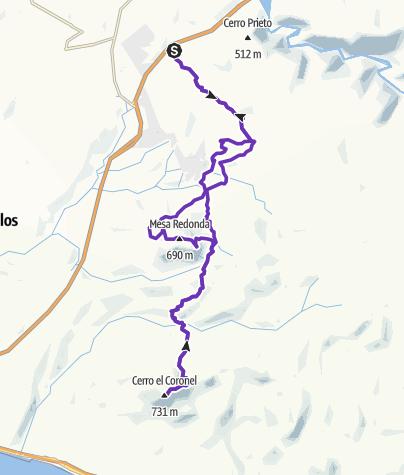 Mapa / Ultra Baja Trail 2018
