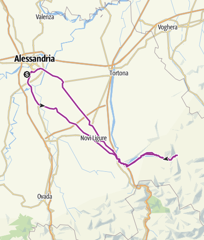 Map / Alessandria-Val Borbera