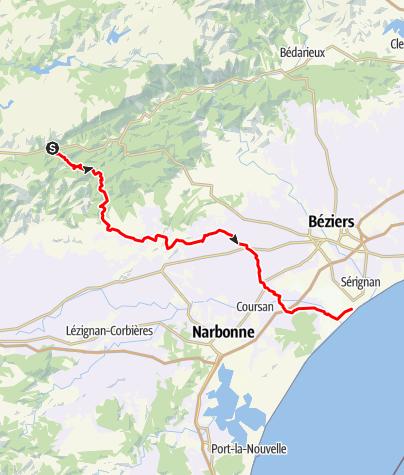 Map / Labastide-Valras - Mob