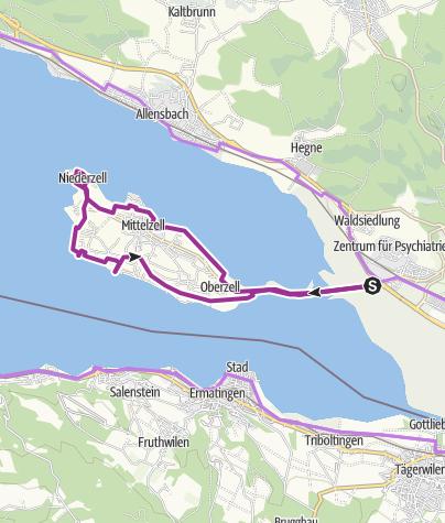Map / Insel Reichenau