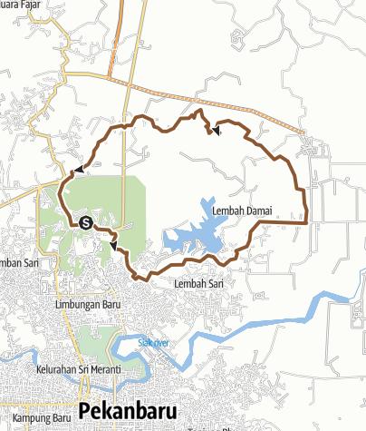 Map / Rumbai Danau Buatan