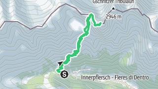 Karte / Pflerscher Tribulaun (3.097 m) - formschöner Berg hoch übern Pflerschertal