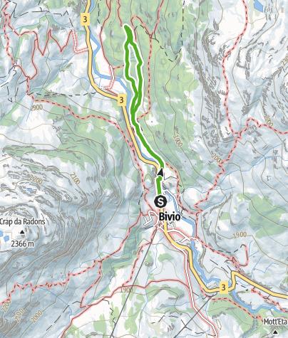 Karte / Bergwald-Wundertüte, Bivio
