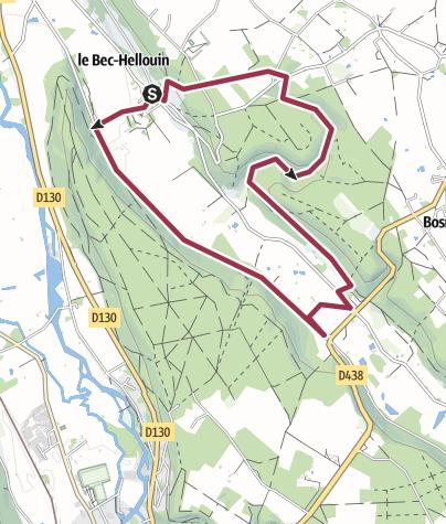Map / Circuit des Bénédictins