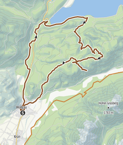 Map / Route von Altacher