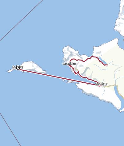 Mappa / Faroe Islands Traverse, tappa 2