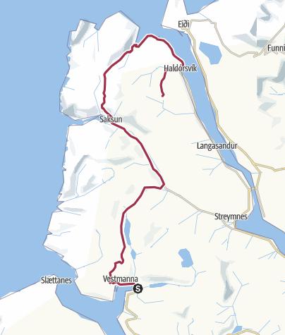 Mappa / Faroe Islands Tarverse, tappa 5