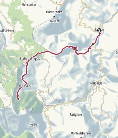 Map / Bobbio - Piani di Lesima