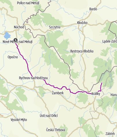 Map / 10-11 N.M.n. Metují - Dolní Morava