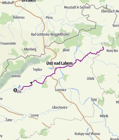 Map / 03-04 Most autodrom – Kamenický Šenov