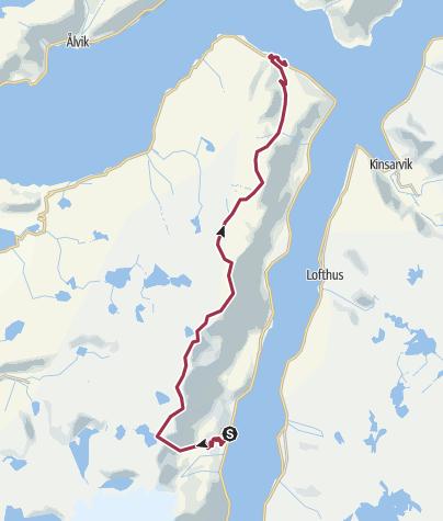 Map / Sørfjorden