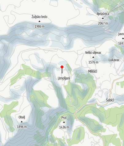 Map / Guesthouse Umoljani