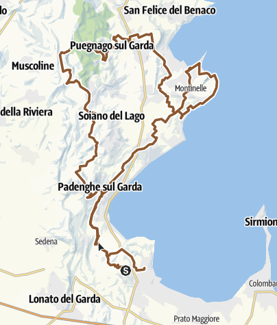 Mapa / 2016 DESENZANO.gpx