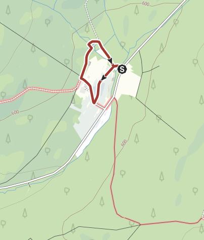 Hunsrück Hochwald Karte.Nationalpark Inseltour Bei Thranenweier Im Nationalpark Hunsrück