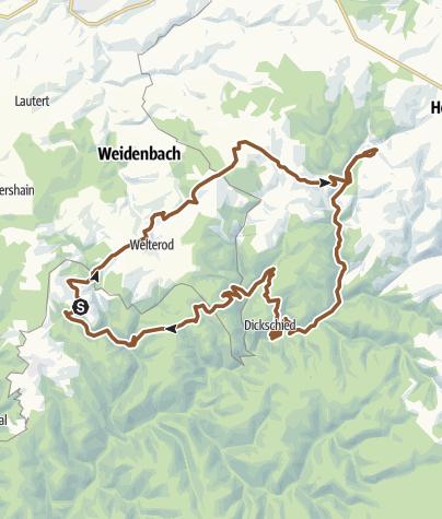Carte / Auf den Spuren der Wisper