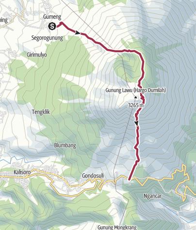 Карта / 20130311-12 lawu cetho-cemoro lawu