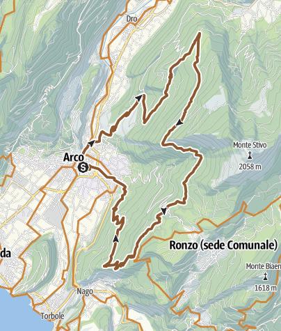 Cartina / 759. Monte Velo (Cross Country)