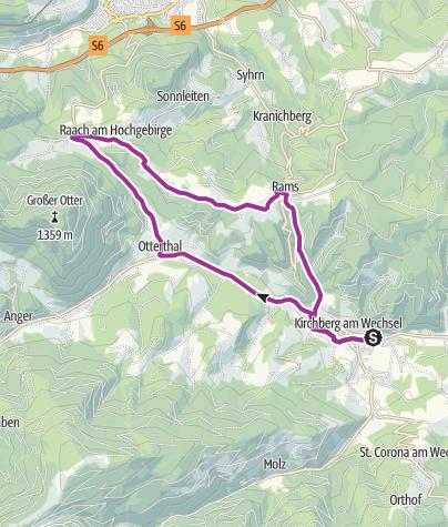 Map / Goldberg-Strecke