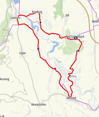 Karte / Bad Grönenbach - Illerwinkel
