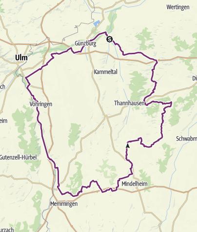Karte / Schwäbische Kartoffeltour