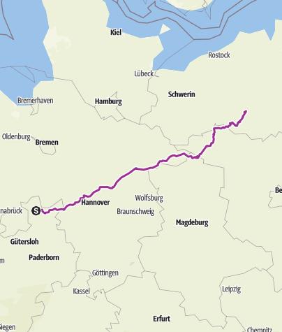 Karte / Müritz