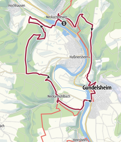 Karte / Burgentour mit Adlerblick