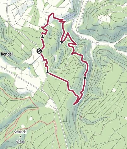 Karte / Kasholzer Weg bei Wintrich an der Mosel