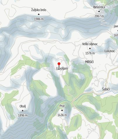 Map / Umoljani Village Hut