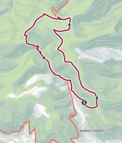 Karte / Genießerpfad zur Blockhütte