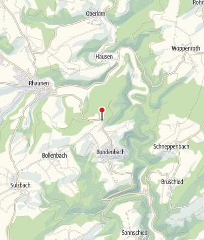 """Karte / Jugendzeltplatz """"Zur Altburg"""""""