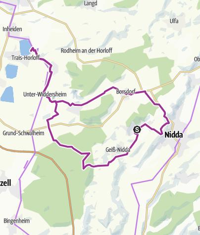 Karte / Vom Kurbad zum Badesee