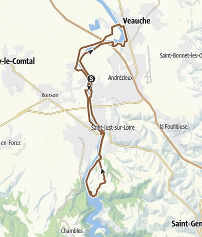 Map / Andrézieux-Bouthéon-St Just-Grangent_MC