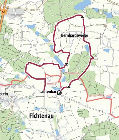 Map / Rehe und Füchse als Begleiter