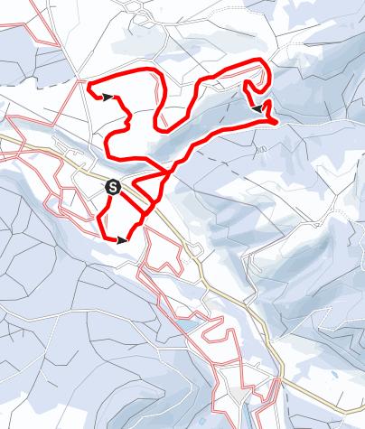 Karte / 5 Brennberg-Panorama-Loipe