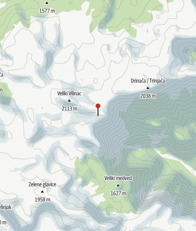 Karte / Planinarski dom Vilinac