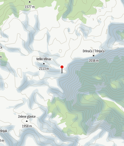 Mapa / Planinarski dom Vilinac