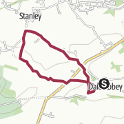 Map / Dale Abbey to Stanley